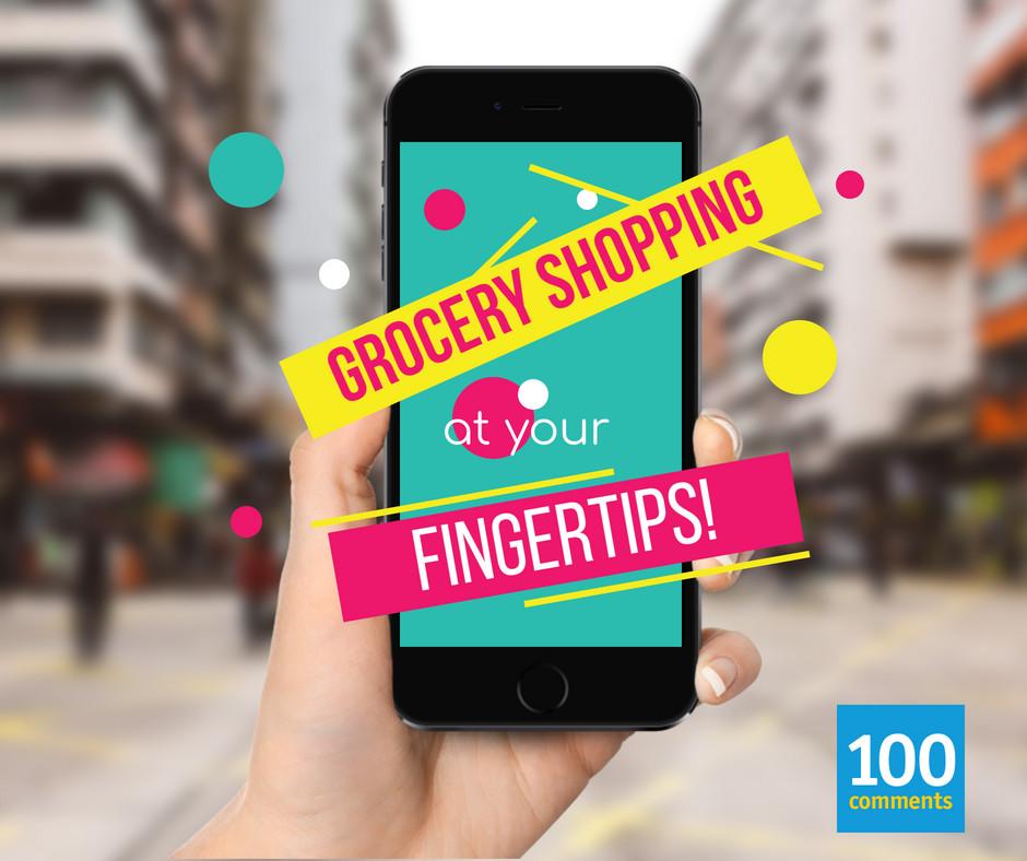 Online groceries services