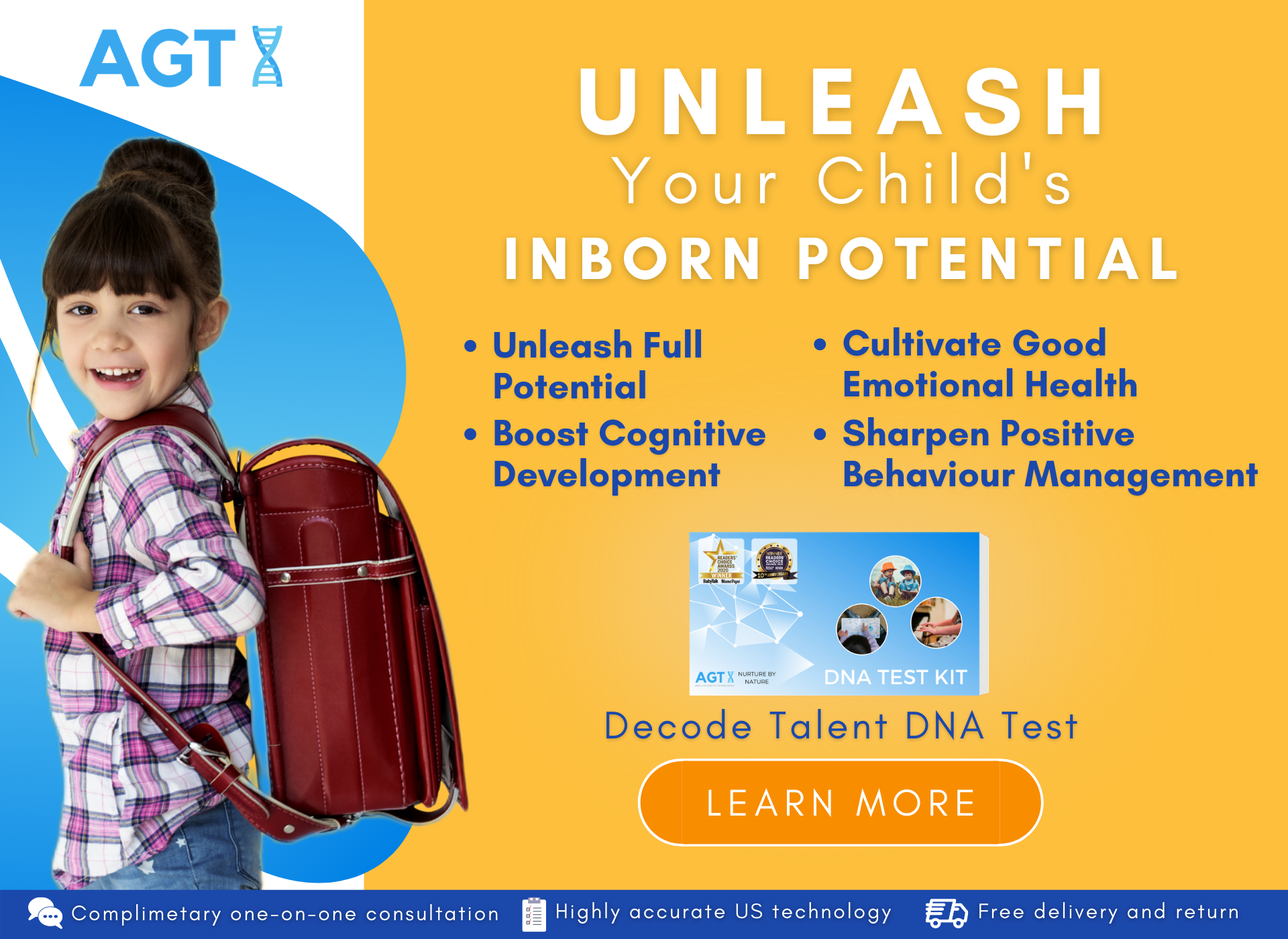 Unleash Your Child's Full Potential with Decode Talent DNA Test