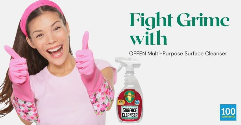 Fight Grime with OFFEN Multipurpose Surface Cleanser