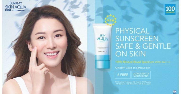 Sunplay Skin Aqua Physical Sunscreen featured