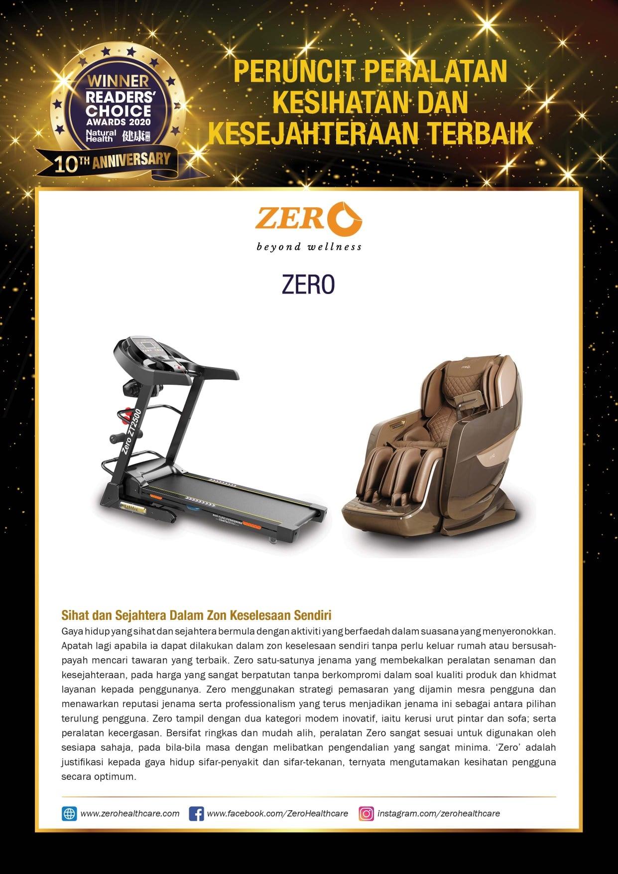 Zero Beyond Wellness Awards