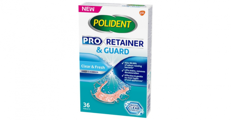 Polident Pro Retainer & Guard Cleanser