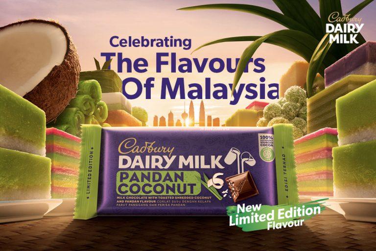 Cadbury Dairy Milk Pandan Coconut