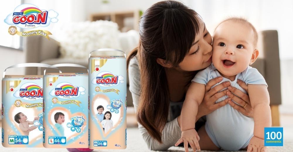 GOO.N Mommy Kiss Premium Diaper