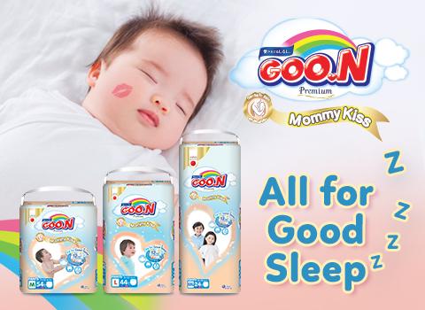 5 Reasons Why Moms Should Get GOO.N Mommy Kiss Premium Diapers