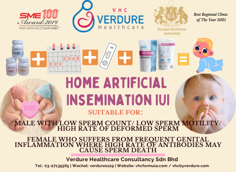 Now you can do artificial insemination (IUI) at home!!!