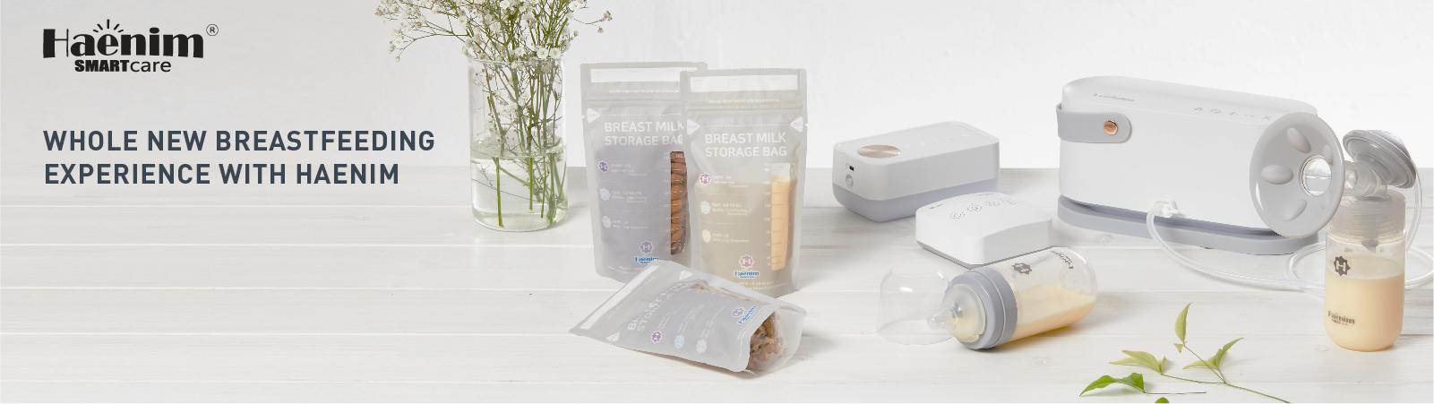 Haenim NexusFit™ 7X Breast Pump: The most compact and light hospital grade breast pump