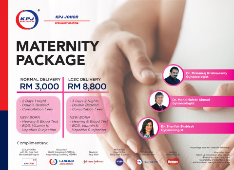 KPJ JOHOR SPECIALIST HOSPITAL: Ensuring the best experience and safety for you and your baby