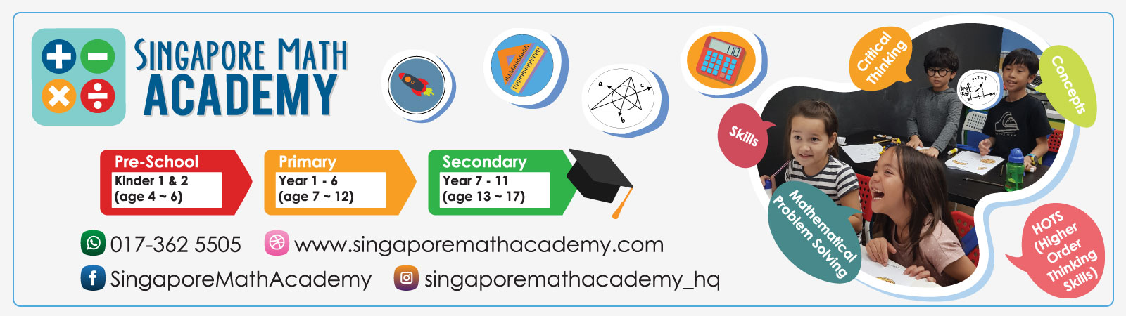 Help Them Build Better Problem-solving Skills with Singapore Math Academy