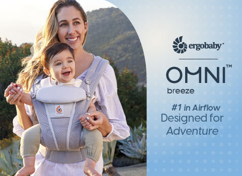 Ergobaby Omni Breeze: Breathable and Comfortable!